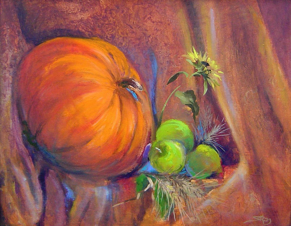 Posed-Pumpkin16X20BF